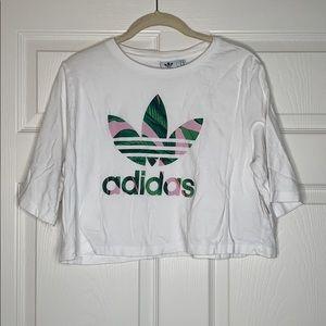 Adidas | Cropped | T-shirt